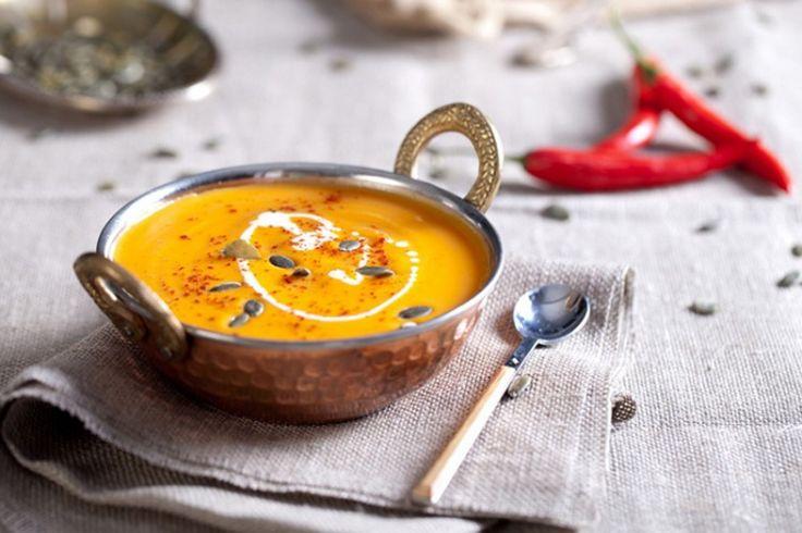 Крем-суп из тыквы / Простые рецепты