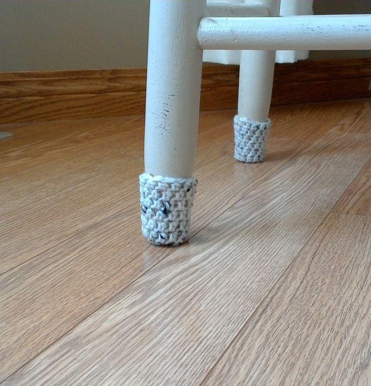 Extra Tall Crochet Chair Socks, Chair Booties | Chair ...
