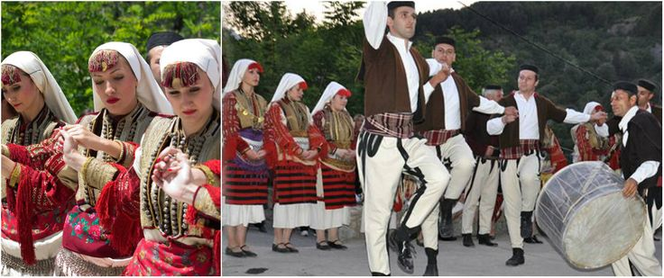 Mijaks are an ethnographic group of ethnic Macedonians who live in the Mijačija area along the Radika river, in western Macedonia. The Mijaks practise predominantly animal husbandry, and are known for their ecclesiastical architecture, woodworking, icon painting, and other rich traditions, as well as their characteristic Galičnik dialect of the Macedonian language.