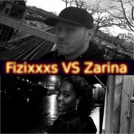 Fizixxxs Vs Zarina is the debut release by TE resident DJ and NYC native DJ Fizixxxs