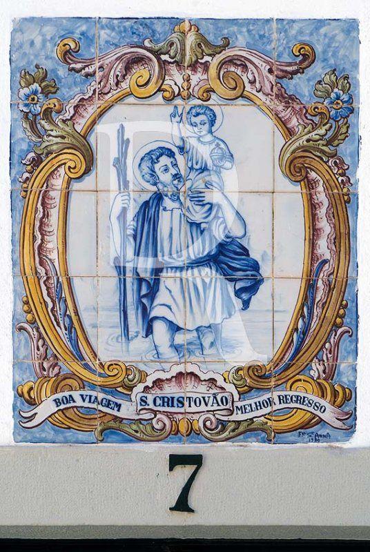 São Cristóvão protector dos viajantes!  Paço de Arcos 💥