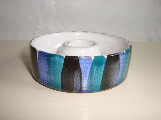 Bangholm candlestick/lysestage. #bangholmkeramik #danishceramics #ceramics #pottery #keramik #candlestick #lysestage. From www.TRENDYenser.com. SOLGT/SOLD.