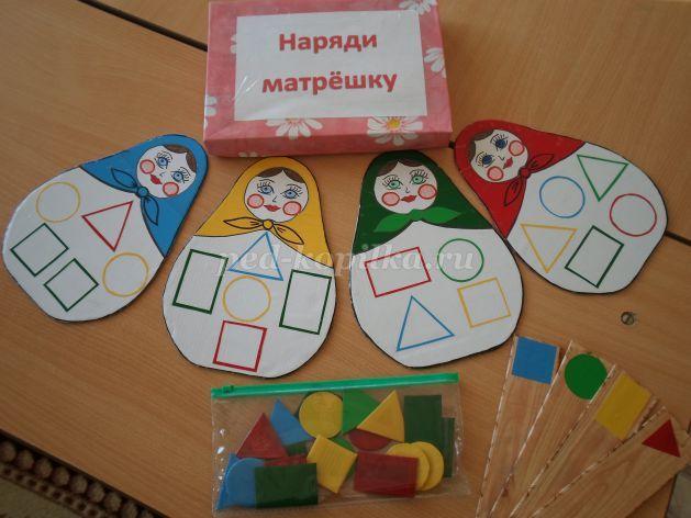 Дидактические игры своими руками по сенсорному воспитанию для младшей группы детского сада