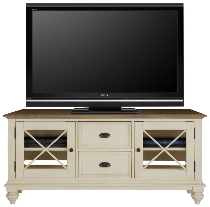"""Coventry Two-Tone 60"""" TV Stand"""