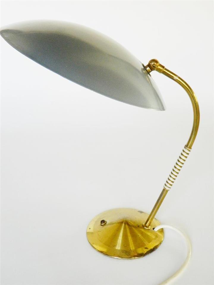 Mid-century Modern Retro Carl Auböck Designer Brass Table Lamp, 1950s Austria