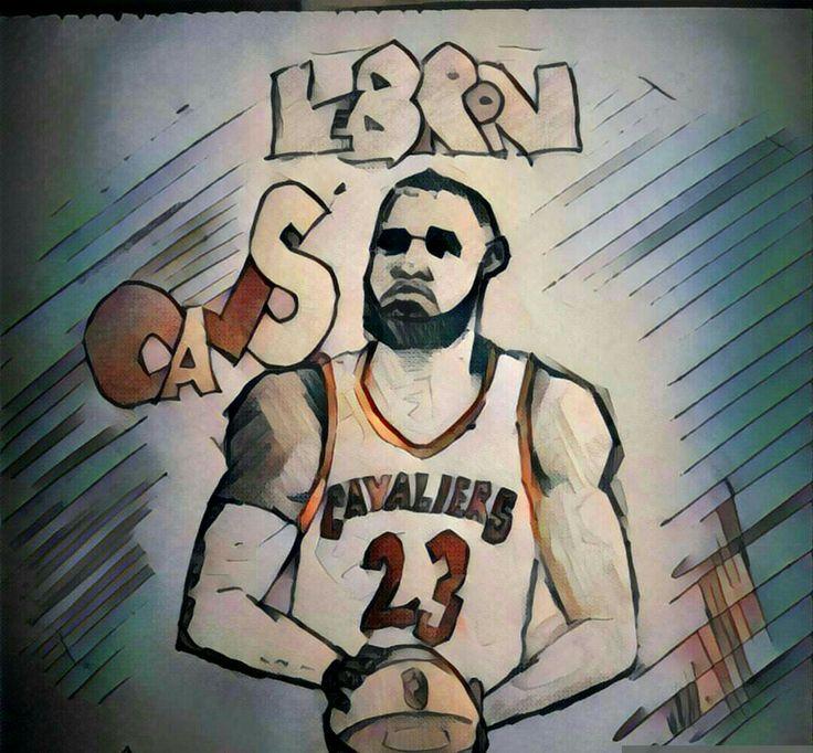 #LeBronJames #cleveland #cavaliers #illustrator #illustration