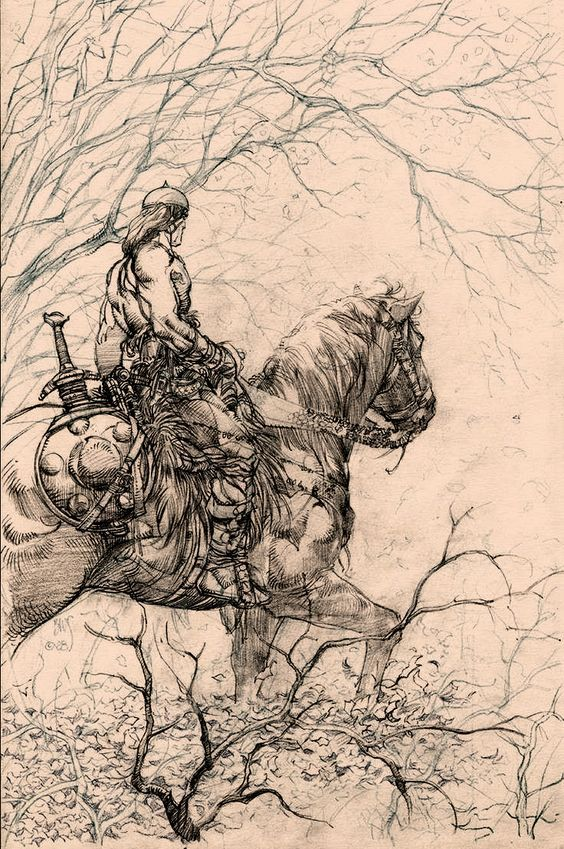 Drawing Red Lines With Green Ink : Best red sonja conan images on pinterest comic art