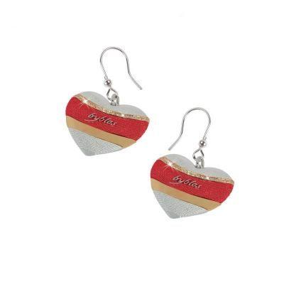 #bijoux #orecchini cuore rosso di Byblos Jewels #Byblos collezione Temptation  Prezzo €116