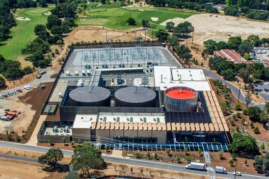 AIA Selects Top 10 Most Sustainable Projects of 2017,Stanford University Central Energy Facility; Stanford, California / ZGF Architects LLP. Image © Steve Proehl