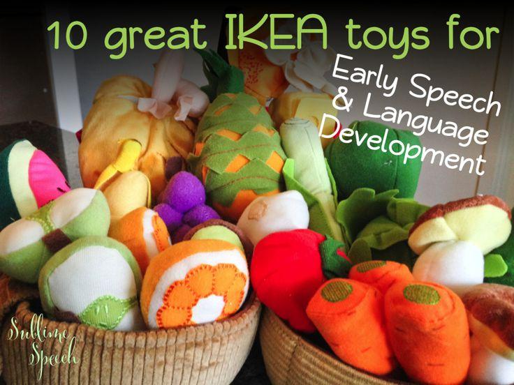 10 Great IKEA Toys for Early Speech & Language Development - on the @SublimeSpeech blog! #EarlyIntervention #SLPeeps