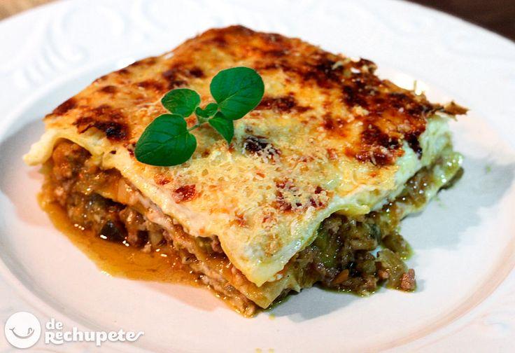 Receta de lasaña de carne - Recetasderechupete.com