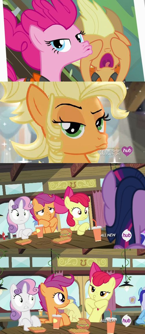 The Duck Face Plague Strikes Again!! OH MY GOSH!!! LOOM AT APPLEJACK ON THE TOP!!! HAHAHAH!!
