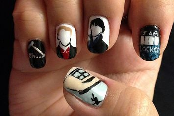 29 Examples Of Marvellously Geeky Nail Art