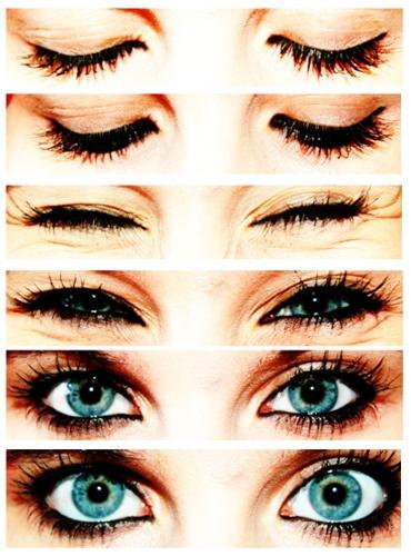 eyes: Pretty Eye, Make Up, Eye Makeup, Eye Colors, Style, Beautiful Eyes, Blue Eyes, Hair, Green Eye