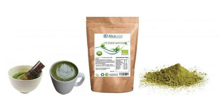 Matcha latte con el té verde Matcha Alcavida