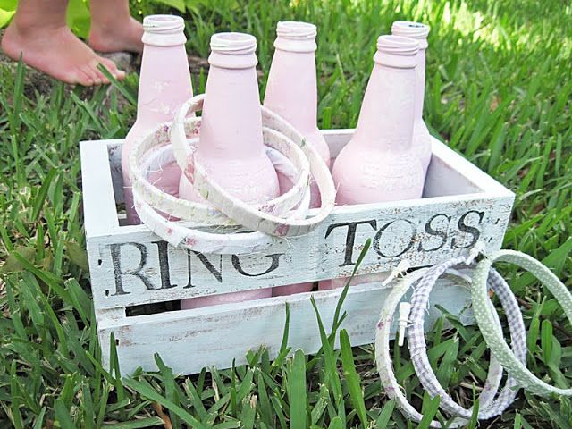Two Shades of Pink: Make Your Own Old Fashioned Games... Make Them Pretty too!