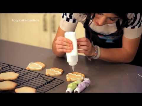 Glaseado para decorar Galletas - Mi Receta - YouTube