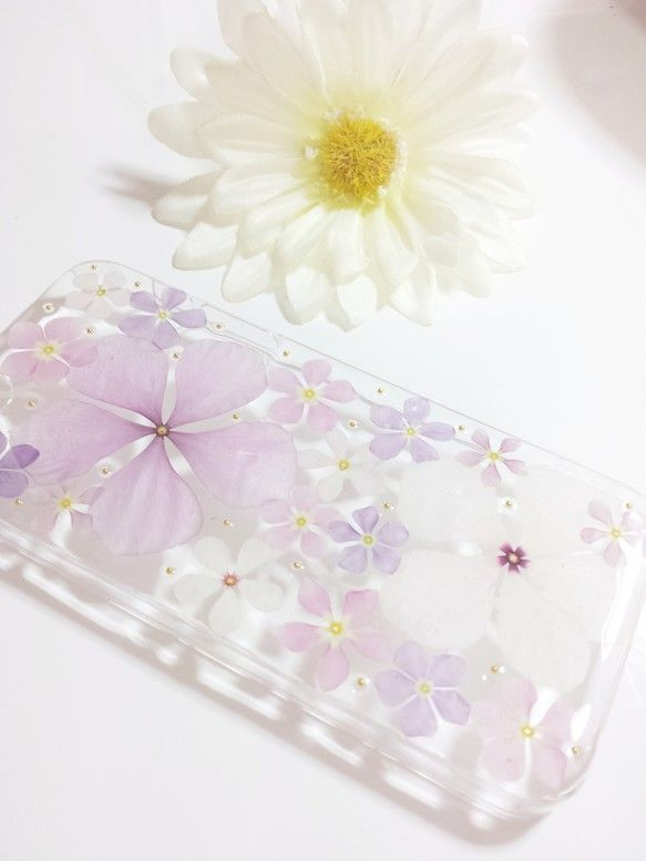 押し花  iPhone5  iPhone5s   カバー  ケース