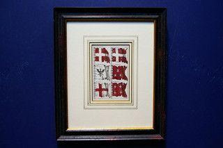 Antieke scheepsvlaggenkaart 19403 op www.lansantiek.com