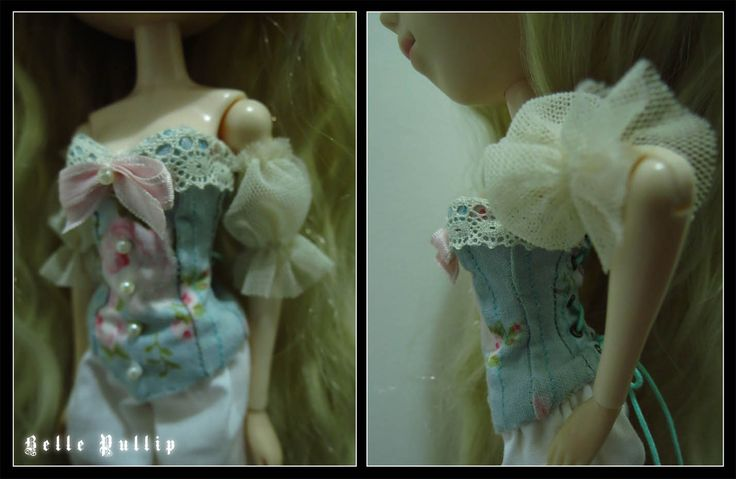 Victorian Courtesan Outfit for Pullip Doll
