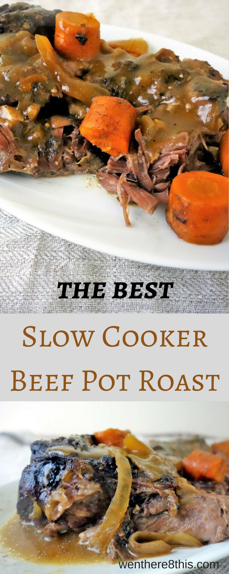 Learn how to make the best slow cooker beef pot roast -