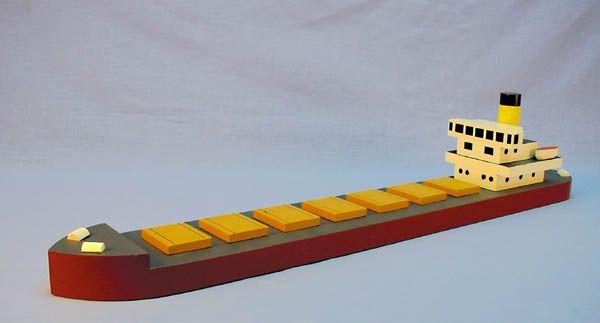 Big Cargo Ship | Wooden Toys | Pinterest | Ships
