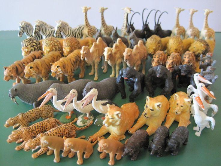 Plastic Zoo Animals Ebay
