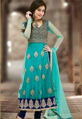 Pakistani & Indian Shalwar Kameez Trend For Girls From 2013-2014