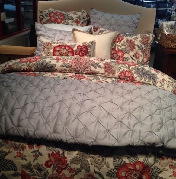 Pottery Barn Allegra Floral Palampore Duvet Cover Queen W