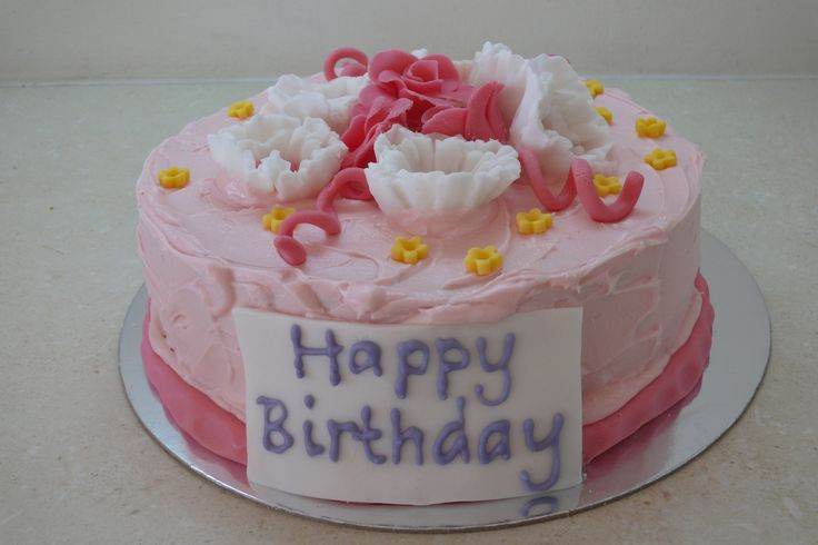 This classy pink cake would be perfect for any celebration! Order online today at www.glutenfreecakenation.com.au