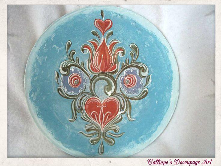 Πιάτα | Calliope's Decoupage Art