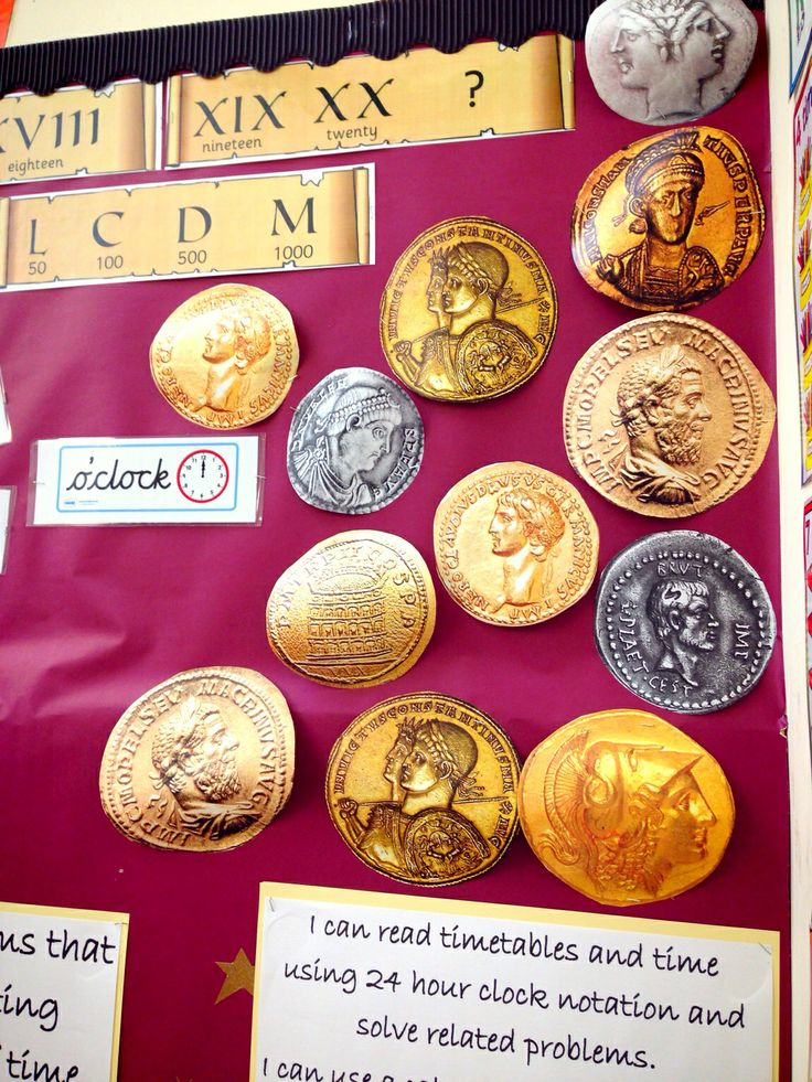 So easy!! Roman themed numeracy target board ks2, copy and pasted coin images enlarged a4 to a3 and cut out.