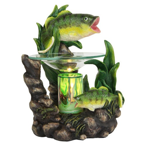 New Bass Fish Electric Tart Scented Oil Warmer Home Decor Ebay Find More Items Like