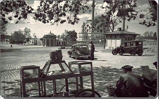 1940' lar Dolmabahçe meydani