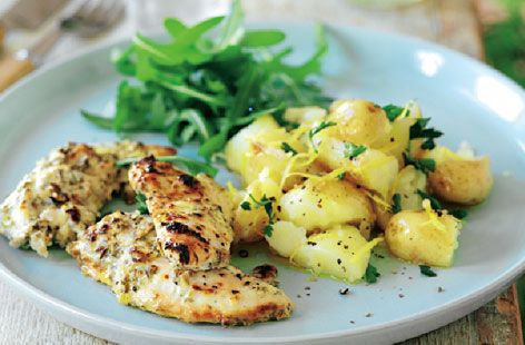 A simple Garlic and yogurt marinated chicken recipe for you to cook a great meal for family or friends. Buy the ingredients for our Garlic and yogurt marinated chicken recipe from Tesco today.