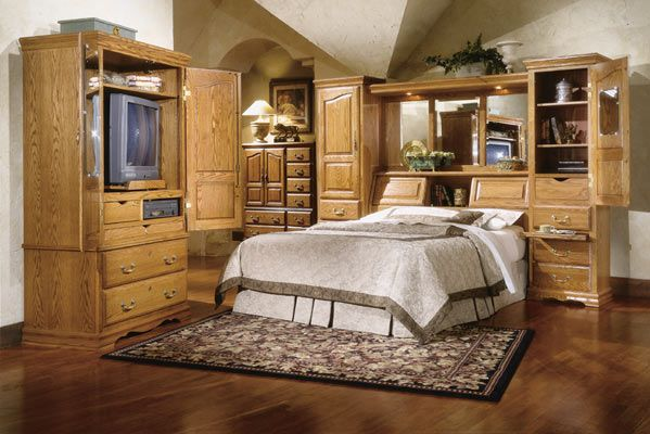 Ft 605 And Ft 611 Q M Master Piece Oak Bedroom Pier Wall