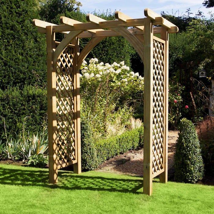 38 Wooden Garden Arch Ideas Pelaburemasperak Com Garden