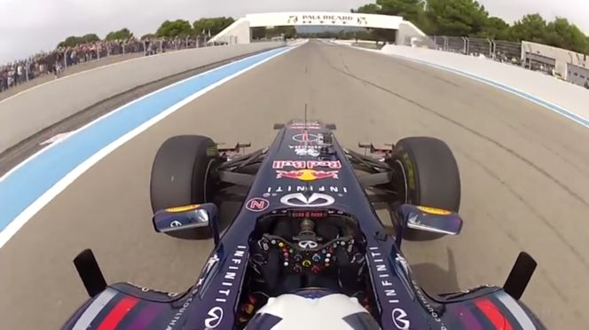 Aston Martin Red Bull Racing - Onboard With David Coulthard In France (VIDEO)