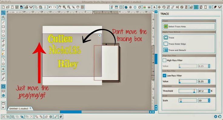 Silhouette Studio: Trace Tool Only Tracing Half the Image (Troubleshooting Tutorial) ~ Silhouette School