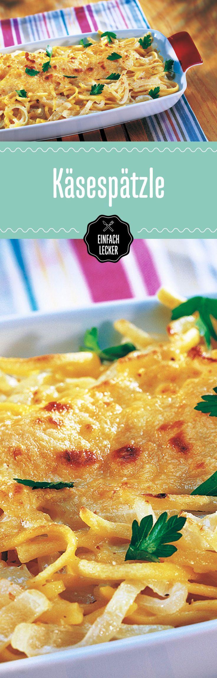 Cheese Lovers aufgepasst! Unsere Käsespätzle katapultieren euch mit einem Biss auf Wolke 7. #dreikäsehoch