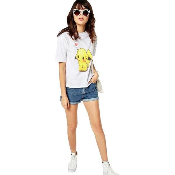 Cute Pokémon Pikachu Women´s T-Shirt available right now at PokemonsGoo.com