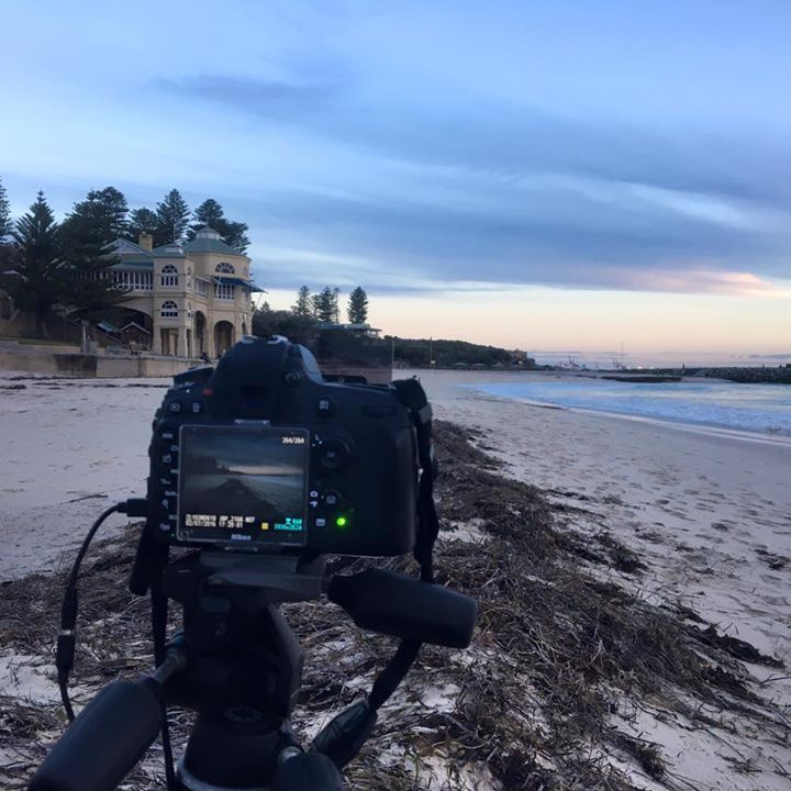 Behind the Scenes at Cottesloe this evening  - http://ift.tt/1HQJd81