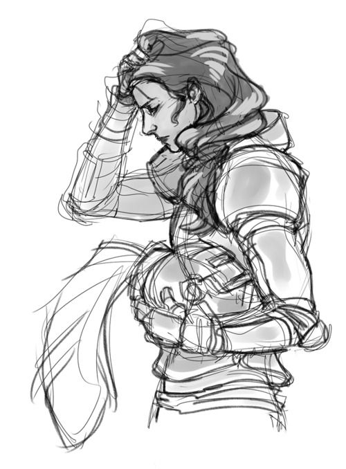 """""""He took off his helmet and shook out a thick mane of dark hair. This is when I realized that the knight who had kicked my arse was a girl."""""""