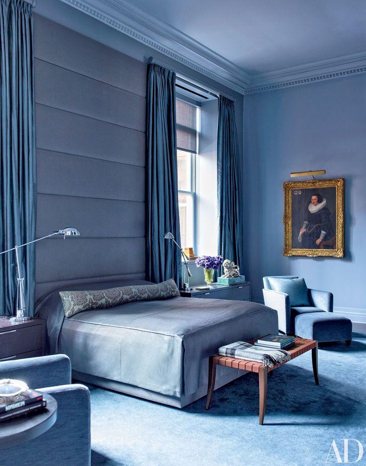 Master Bedroom Upholstered Headboard
