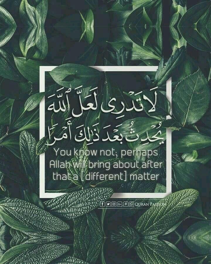 لا تدري لعل الله يحدث بعد ذلك أمرا Quran Quotes Quotes For Book Lovers Quran Quotes Inspirational