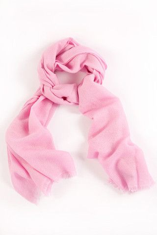 Baby Pink 100% Cashmere Shawl:  A subtle blend of soft rose and cream hues, this delicate pink cashmere weave is the perfect complement to any collection, exuding both confidence and femininity.  Features include:      100% Cashmere      Handwoven with French cut ends      Size - 75 x 195 cm      Weight - 175g.  Our shawls are authenticated with a Chyangra Pashmina logo. This hallmark guarantees that the highest quality and most genuine cashmere is used in our product.