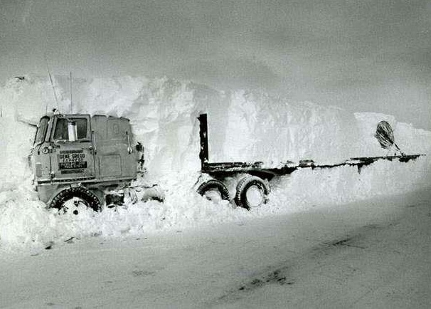 Crazy Photo From The Blizzard Of 1978 In Ohio We Were In The Process