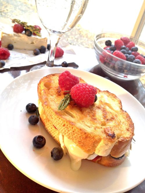 Double Berry Brie Panini   GastroLuv