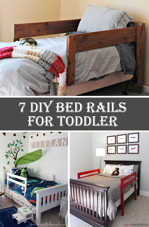 7 DIY Bed Rails for Toddler DIY Bed Rails for Toddler