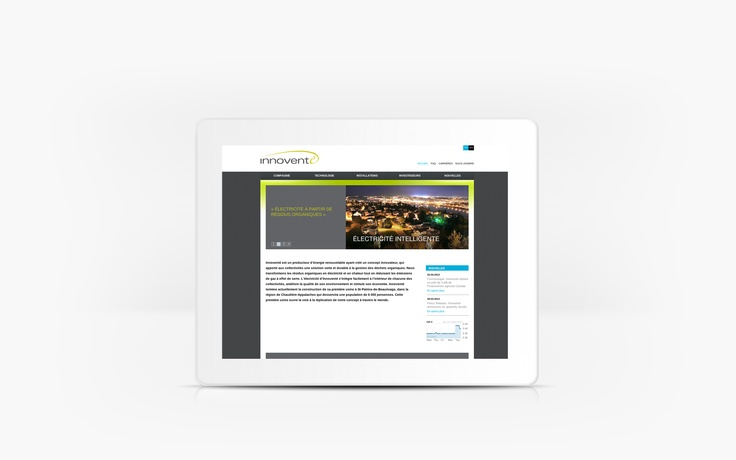 Innoventé | www.innovente.ca | Site Web | Team Marketing • Web • Design
